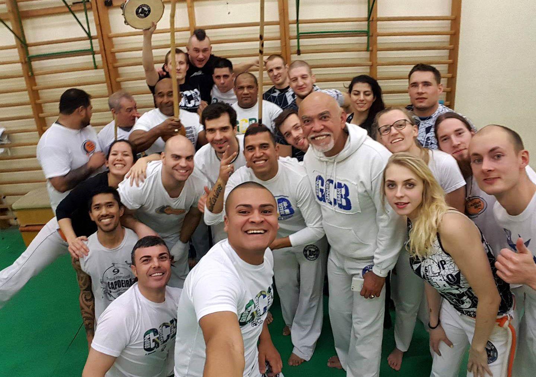 pierwsze zajęcia Capoeira Brasil - Instrutor Mata - Czechowice-Dziedzice - Bielsko-Biała
